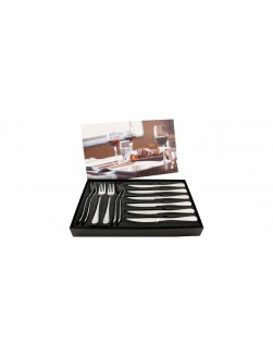 Hardanger Carina Steakbesteckset - 12 Teile - 6 Personen